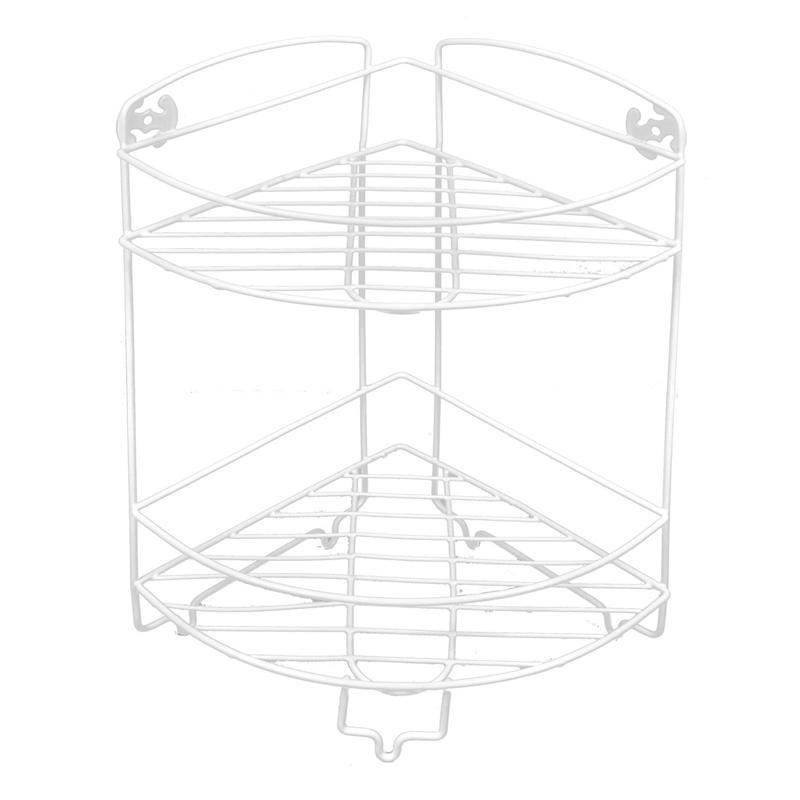 Etajera pentru baie, 12 x 50 cm, 2 rafturi 2021 shopu.ro