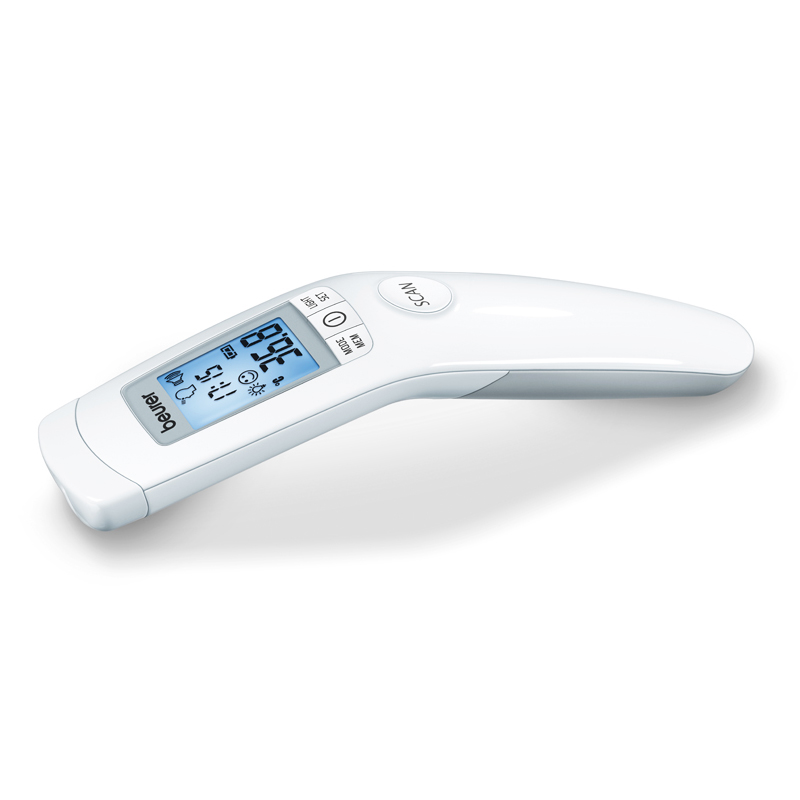 Termometru medical non-contact Beurer, 60 memorii, display LCD 2021 shopu.ro