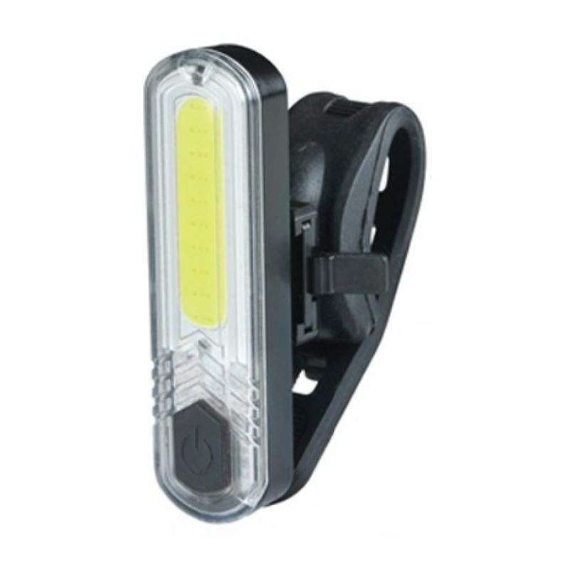 Far tip lanterna pentru bicicleta Cavalier, 60 lm, USB, 4 moduri iluminare, baterie reincarcabila 2021 shopu.ro