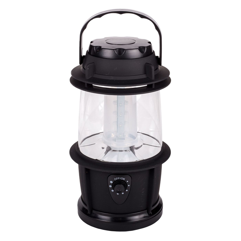 Felinar LED, 14 x 22 cm, Negru shopu.ro