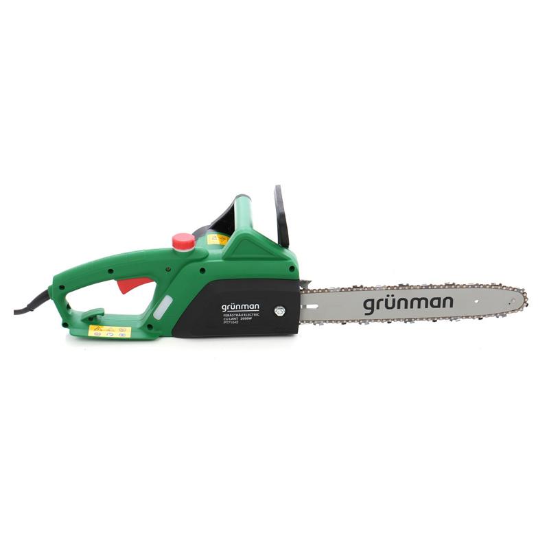 Fierastrau electric cu lant Grunman, lungime sina 35 cm, 2000 W 2021 shopu.ro