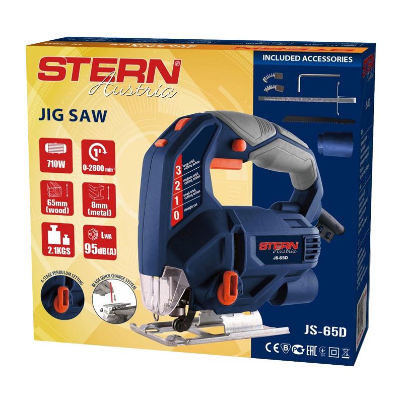 Ferastrau pendular Stern JS65D, 4 trepte, 710 W