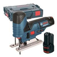 Ferastrau vertical cu acumulator Bosch, 12V, Li-Ion, 2.0 Ah, 70 mm, 2800 curse/min, 2 x acumulatori GBA, incarcator rapid