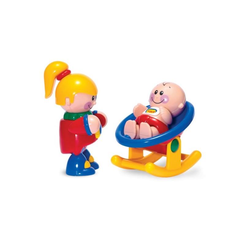 Fetita si Bebelus