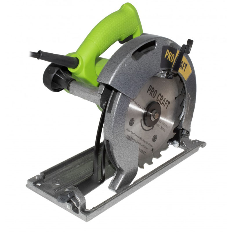 Fierastrau circular ProCraft KR2000, 2000 W, 5000 rpm, disc 185 mm, lemn 62 mm 2021 shopu.ro