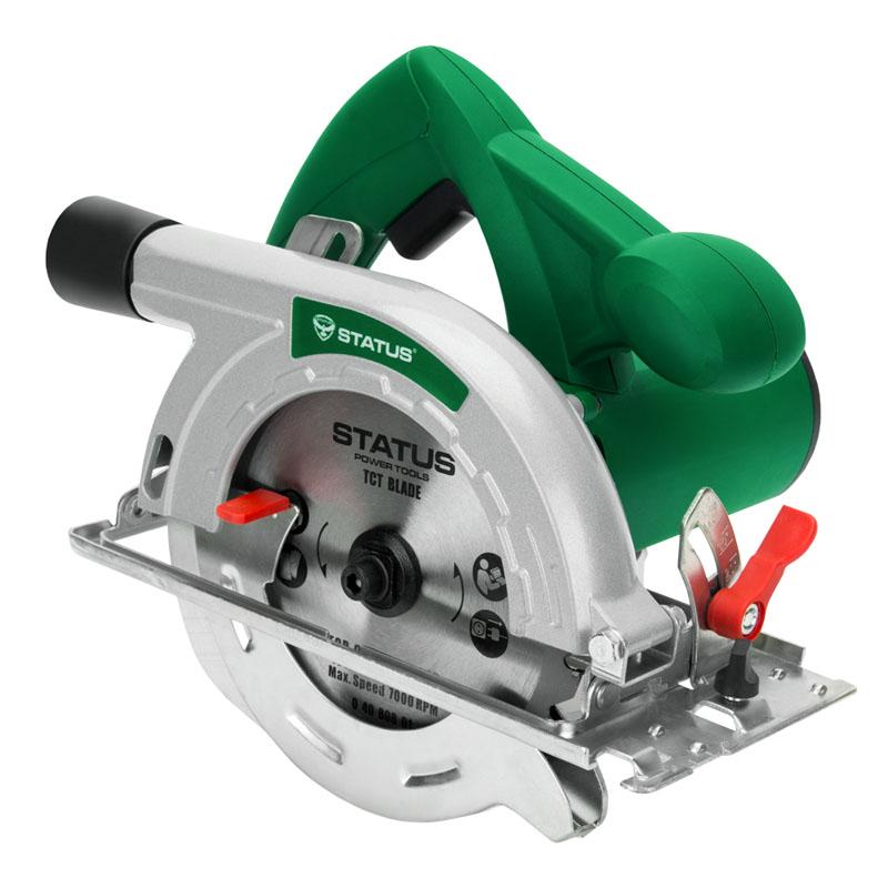 Fierastrau circular Status CP165C, 1300 W, 5000 rpm, disc 165 mm, lemn 55 mm 2021 shopu.ro