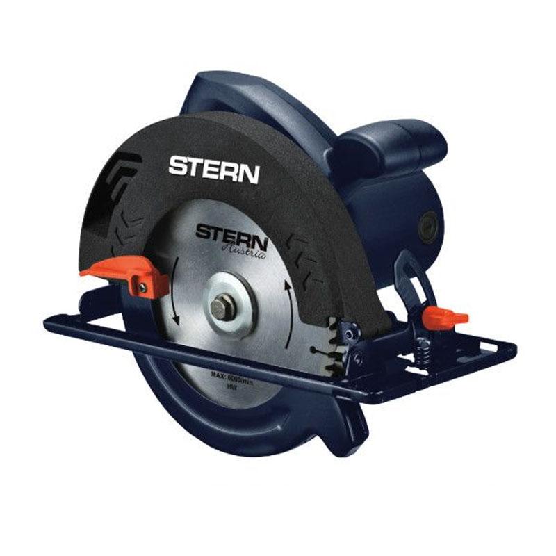 Fierastrau circular Stern Austria, 185 mm, 1250 W, 6000 rot/min, unghi inclinare 0 - 45 grade shopu.ro
