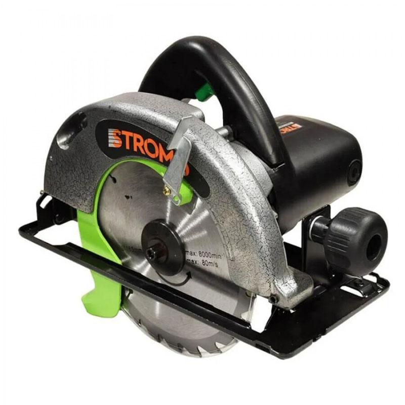 Fierastrau circular de mana Stromo SC2550, 2550 W, 4100 rpm, disc 253 mm, lemn 62 mm, otel 35 mm 2021 shopu.ro