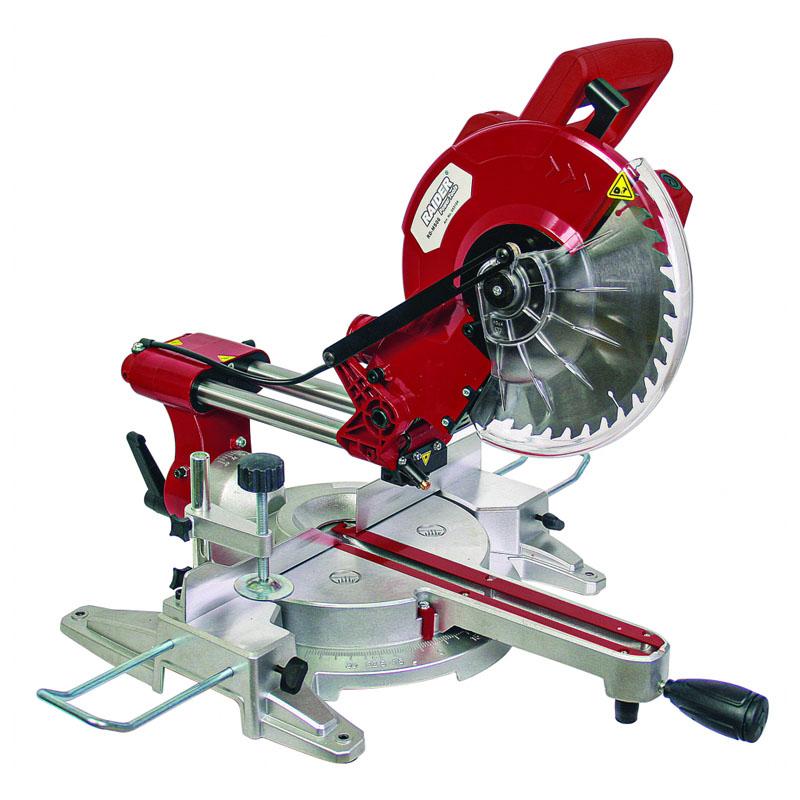Fierastrau circular semi-stationar Raider RD-MS06, 2100 W, 5000 rpm, disc 255 mm, adancime tariere 75 mm, laser