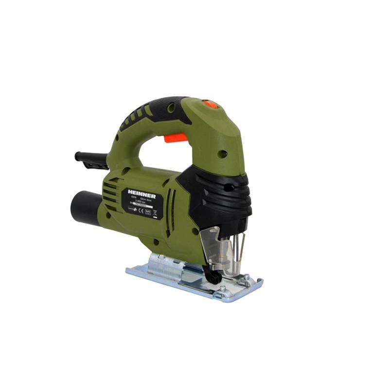 Fierastrau pendular Heinner, 650 W, 2800 RPM, 230 V, 65 mm, taiere circulara, Verde shopu.ro