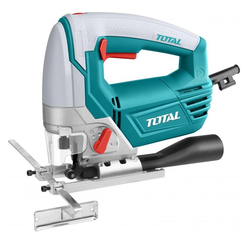 Ferastrau pendular indular Total, 800 W, 3100 rpm, 4 trepte, 5 lame incluse 2021 shopu.ro