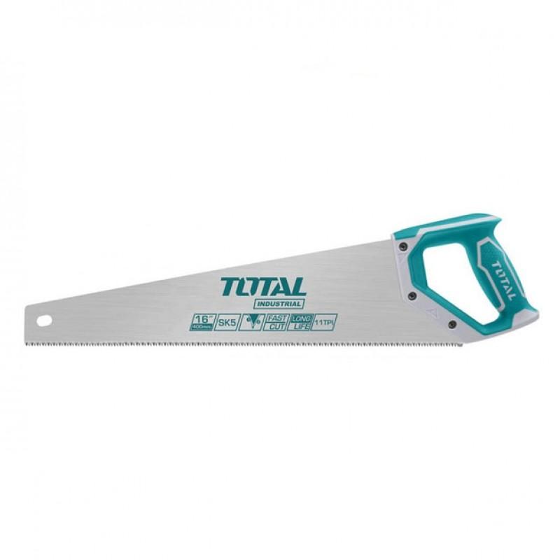 Fierastrau pentru lemn Total Industrial, lungime 500 mm, material Taiwan 7TPI 2021 shopu.ro