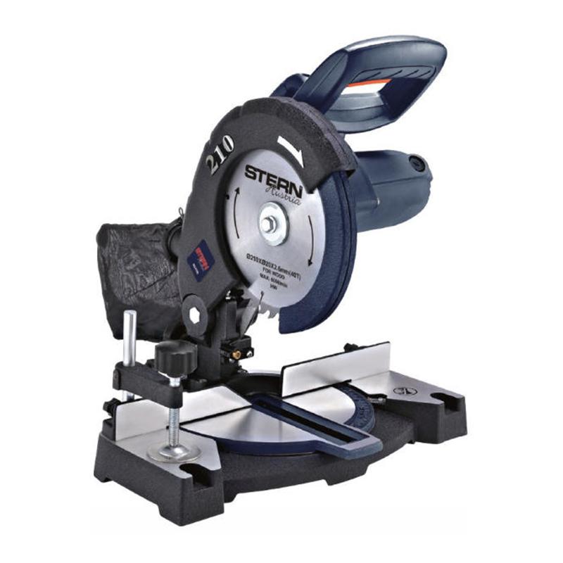 Fierastrau circular stationar Stern, 1400 W, 6000 rpm, 40T, disc 210 mm, lemn 45 mm 2021 shopu.ro
