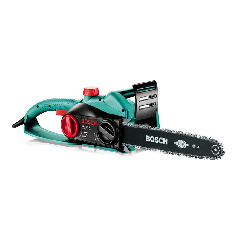 Fierastrau electric cu lant Bosch, 1800 W, lama 35 cm, 200 ml, Negru/Verde 2021 shopu.ro