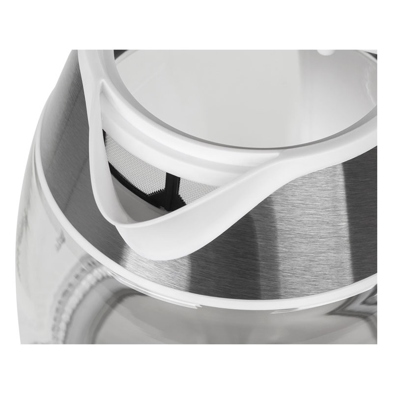 Fierbator electric fara fir Teesa TSA1510W, sticla, 360 grade, 1.8 L, 2200 W