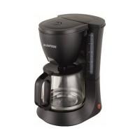 Filtru cafea Albatros Verona 2, 680 W, cana sticla 1.2 l, maner ergonomic, Negru