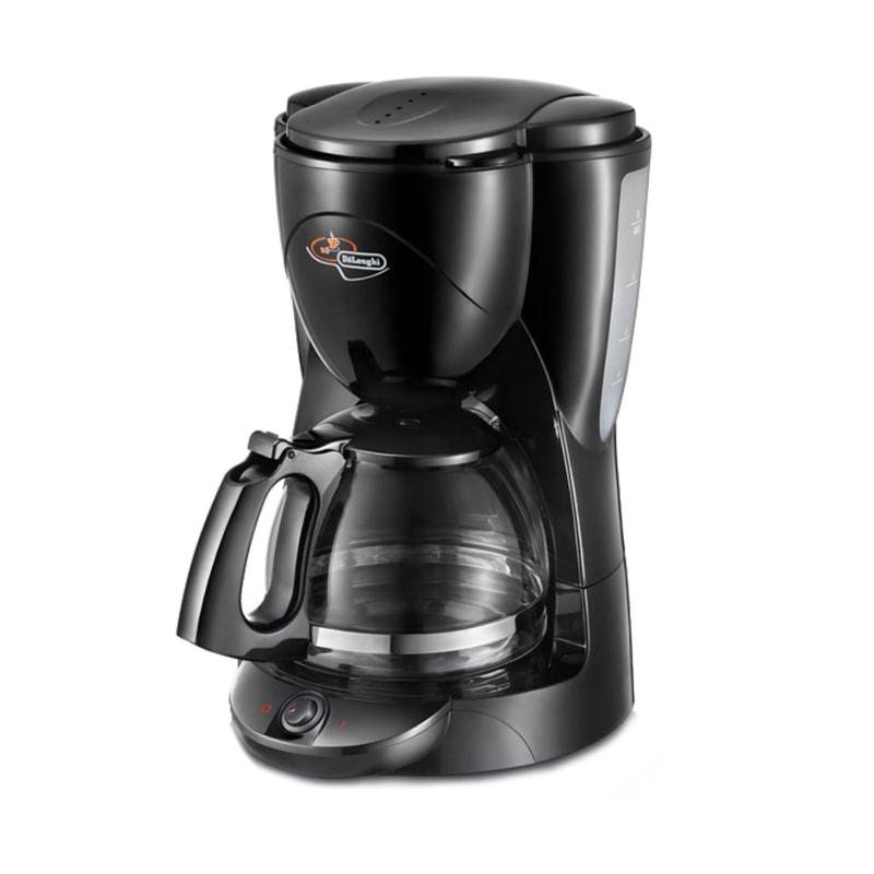 Filtru de cafea Brillante DeLonghi, 1000 W, 1.5 l, carafa sticla, Negru 2021 shopu.ro