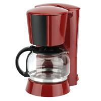 Filtru de cafea Neology Studio Casa, 900 W, 1.25 l, carafa sticla, Rosu/Negru