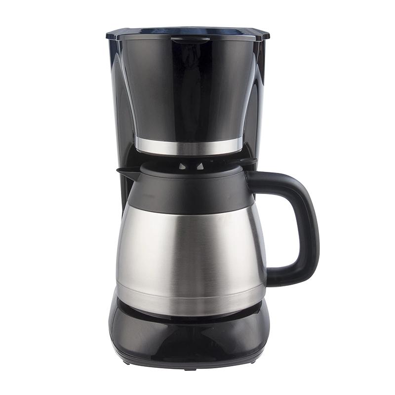 Filtru de cafea Savor Thermo Studio Casa, 800 W, 1 l, carafa inox, Argintiu/Negru 2021 shopu.ro