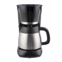 Filtru de cafea Savor Thermo Studio Casa, 800 W, 1 l, carafa inox, Argintiu/Negru