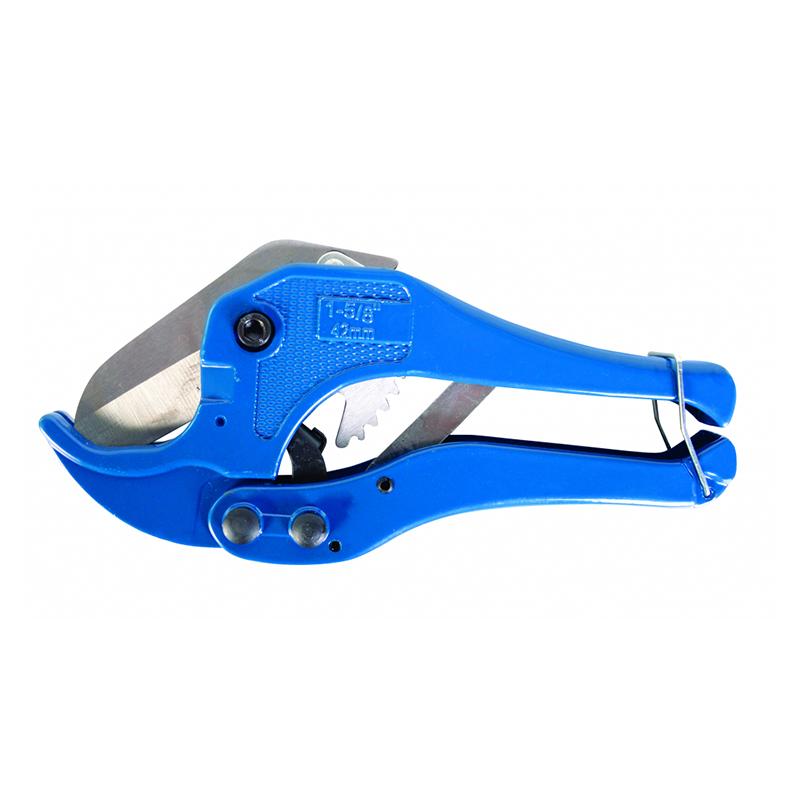 Foarfeca taiat tevi PVC/PP Basic, 42 mm, corp metal 2021 shopu.ro