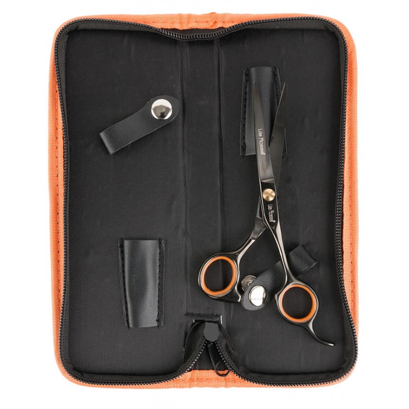 Foarfece profesionala de tuns Lila Rossa TS0255, marime 5.5 cm