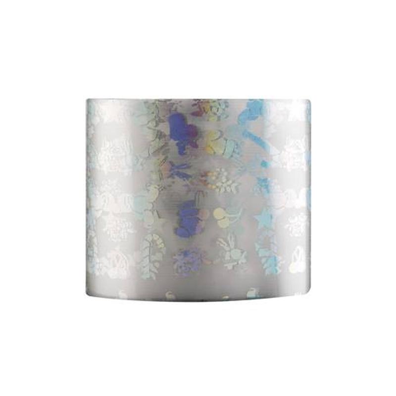 Folie de transfer pentru unghii Rainbow 01, Argintiu