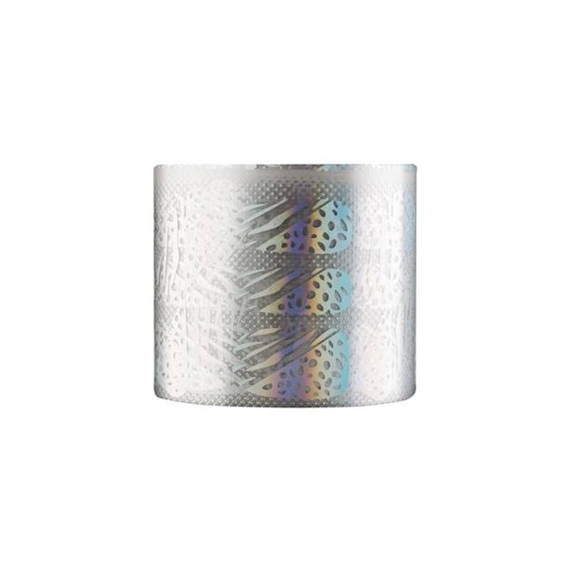 Folie de transfer pentru unghii Rainbow 02, Argintiu 2021 shopu.ro