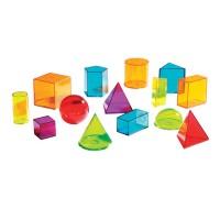 Forme geometrice colorate Learning Resources, ghid de activitati, 8 - 12 ani