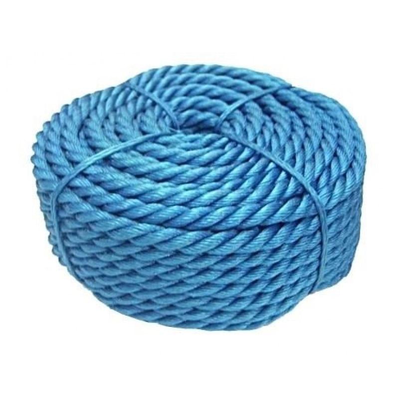 Franghie polipropilena, diametru 8 mm, lungime 100 m, Albastru shopu.ro