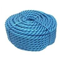Franghie polipropilena, diametru 14 mm, lungime 50 m, Albastru