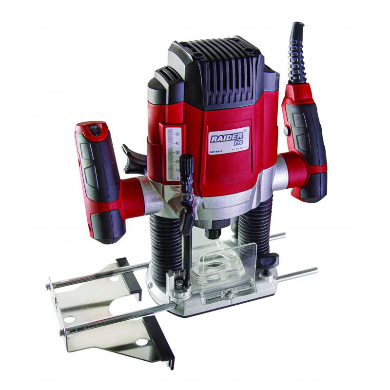 Freza electrica Raider RDP-ER13, 1200 W, 30000 rpm, 8 mm, cursa 50 mm shopu.ro