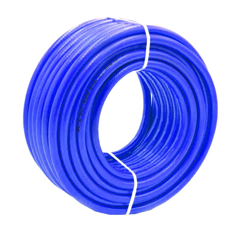 Furtun gaz Micul Fermier, lungime 50 m, PVC, Albastru 2021 shopu.ro