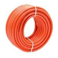 Furtun gaz Plahosan, lungime 50 m, PVC, Portocaliu