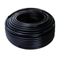Furtun gaz cu insertie, lungime 50 m, PVC, Negru