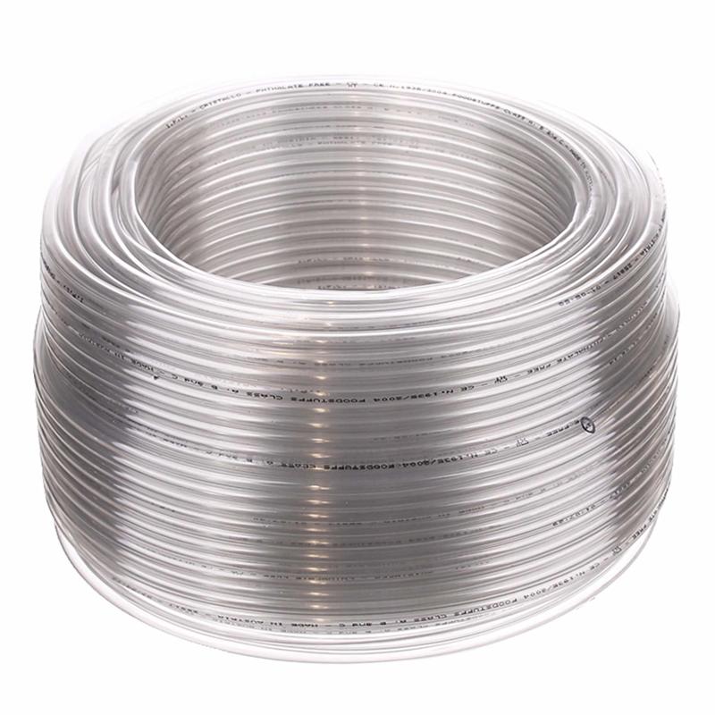 Furtun PVC pentru gradinarit, 5 x 7 mm, 20 m, Transparent shopu.ro