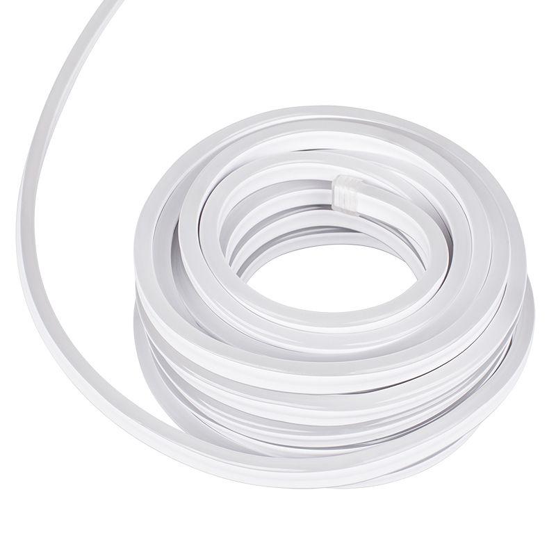 Furtun luminos flexibil tip LED Neon, 10 m, 7.4 W, 3000K alb cald 2021 shopu.ro