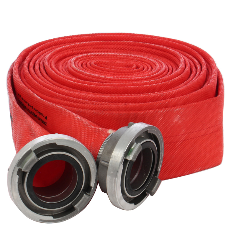 Furtun panzat pentru pompieri MXM, 20 m, diametru 2 inch, 2 cuple storz 2021 shopu.ro