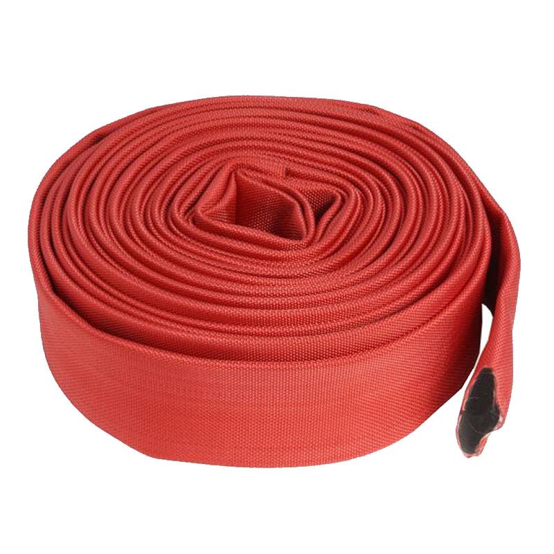 Furtun pompier fara capete Micul Fermier, 20 m, 2 inch, 16 bar, Rosu shopu.ro