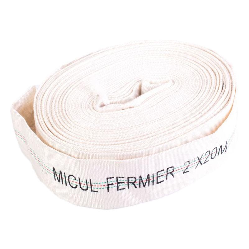 Furtun pompier fara capete Micul Fermier, 20 m, 2 inch, panza 2021 shopu.ro