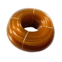 Furtun silicon striat RID, 1/1, 50 m, circumferita 24 cm, Portocaliu