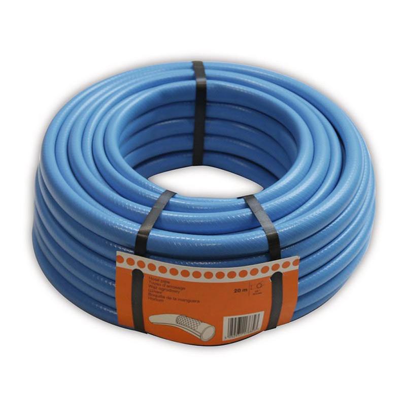 Furtun pentru gradina, 25 m x 19 mm, 24 bar, plastic, Albastru 2021 shopu.ro