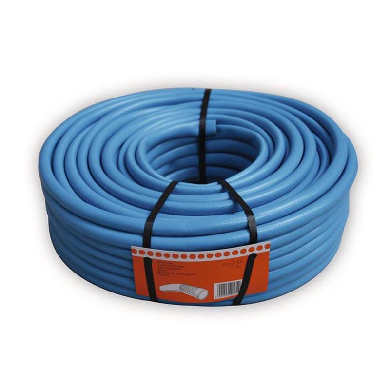 Furtun pentru gradina Verve, 50 m x 12.5 mm, 24 bar, plastic, Albastru shopu.ro