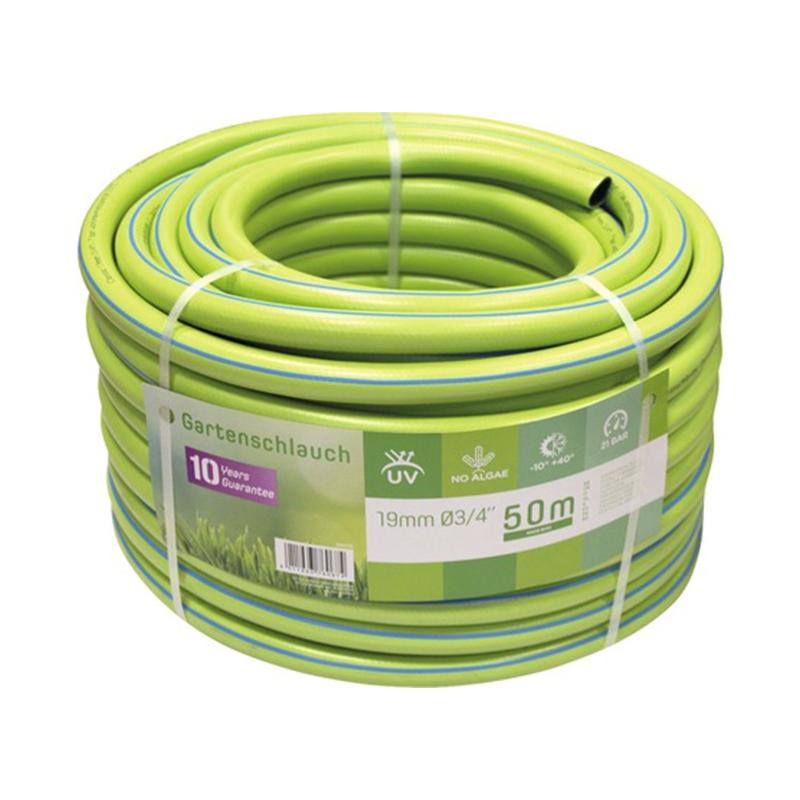 Furtun universal, 50 m, 3/4 inch, 7 bar, PVC, Verde shopu.ro