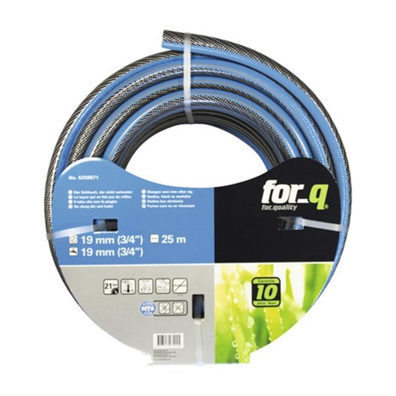 Furtun universal For_q, 25 m, 18.7 mm, 7 bar, PVC, Albastru 2021 shopu.ro