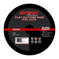Disc abraziv metal-inox G12510S Stern, 125 x 1.0 mm