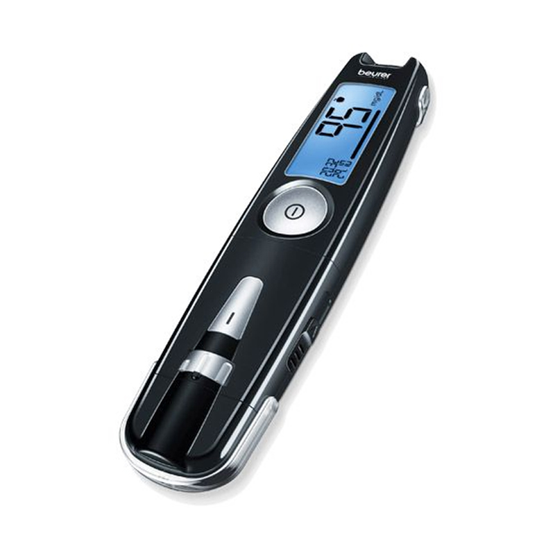 Glucometru compact 3 in 1 Beurer, USB plug, fara coduri