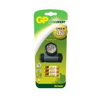 Lanterna Discovery GP, 3 x AAA, LED