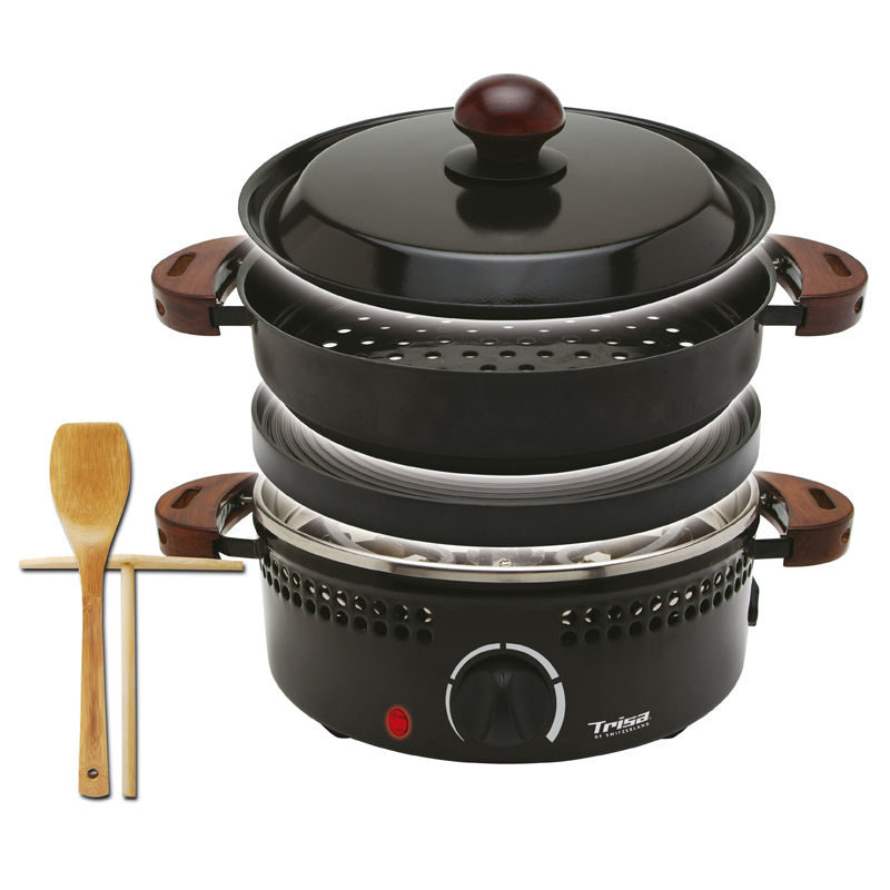 Gratar multifunctional Roast & Grill Trisa, 800 W