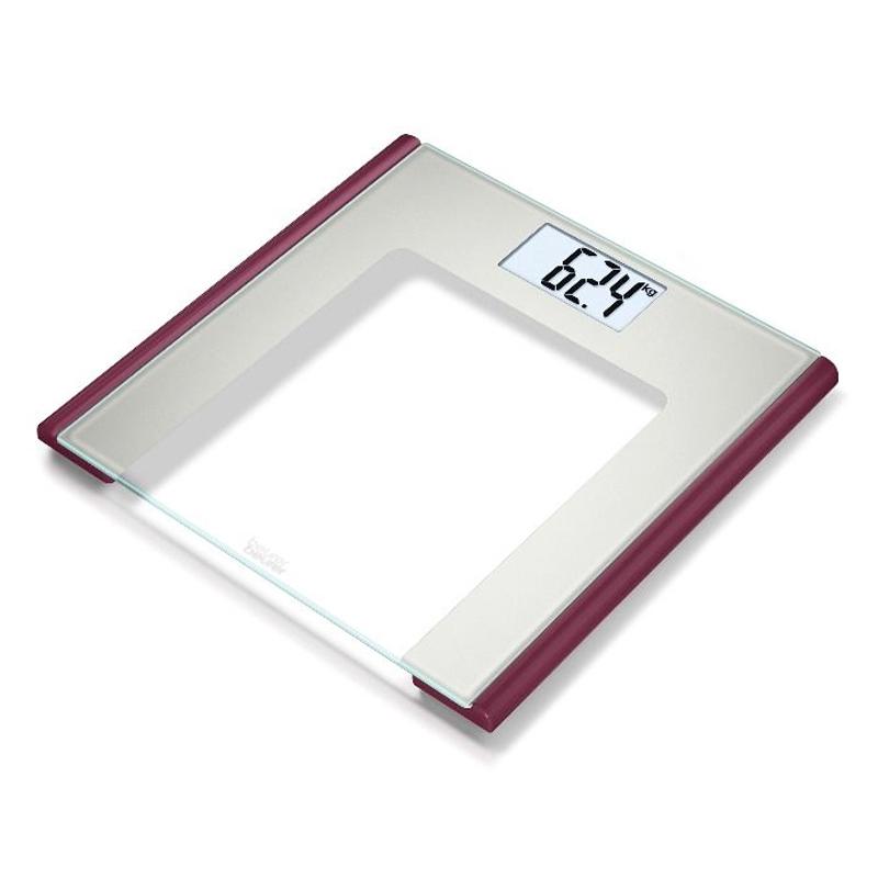 Cantar de sticla Beurer GS170 Ruby, 150 kg, LCD 2021 shopu.ro